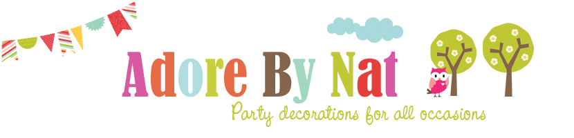 Adore By Nat, your place for party decorations