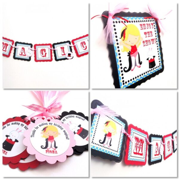 Magician Party Decorations for Girl