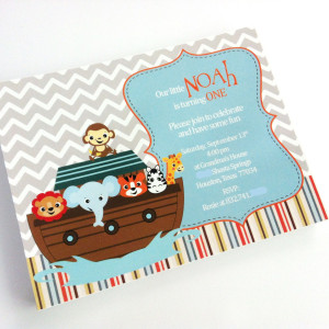 Noah's Ark Invitations