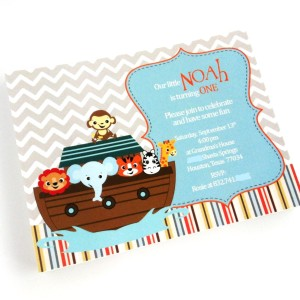 Noah's Ark Invitations
