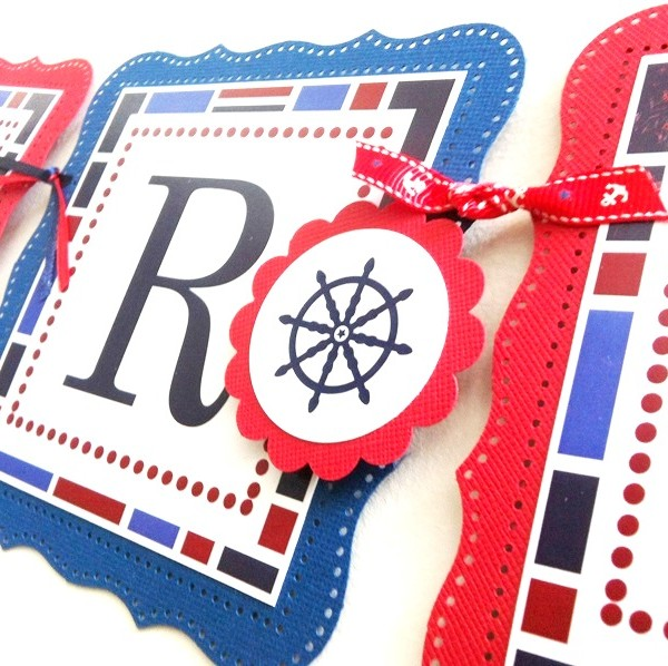 Nautical Banner Party Decoration