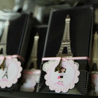 Paris Inspired Favor Tags