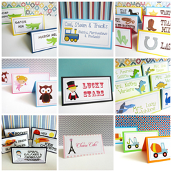 Tent Cards or Place Cards