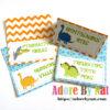 Dinosaur Tent Cards
