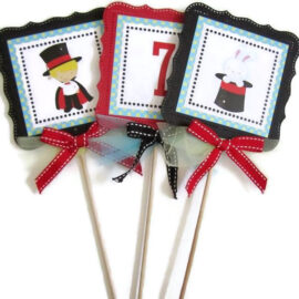 Magic Show Party Centerpieces