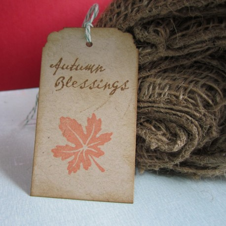 Autumn Blessings Tag a