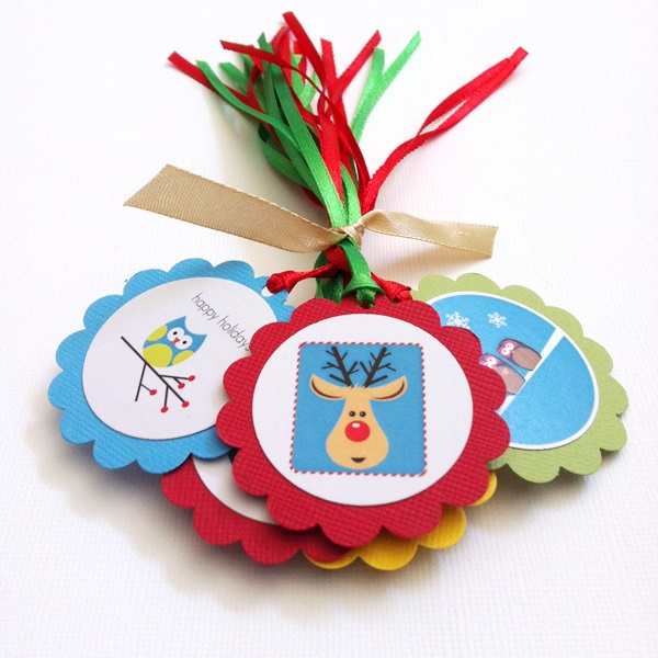 Personalized Handmade Christmas Gift Guide: Cute Personalized Christmas Gift Tags