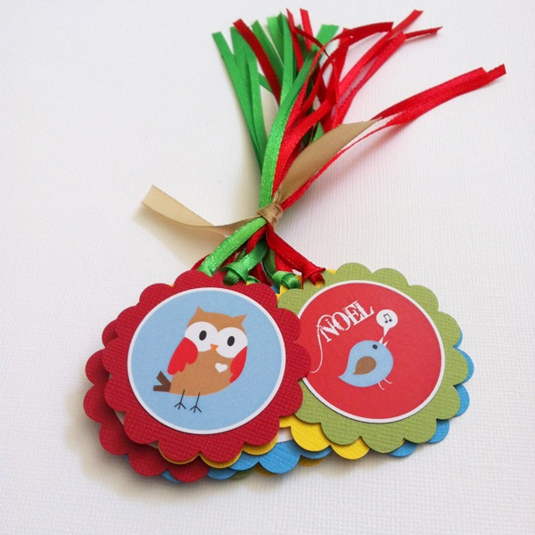 Cute Personalized Christmas Gift Tags