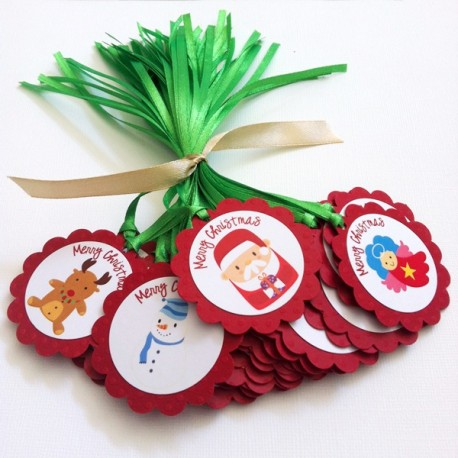 Merry Christmas Gift Tags a