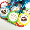 Noah's Ark Favor Tags, Personalized.