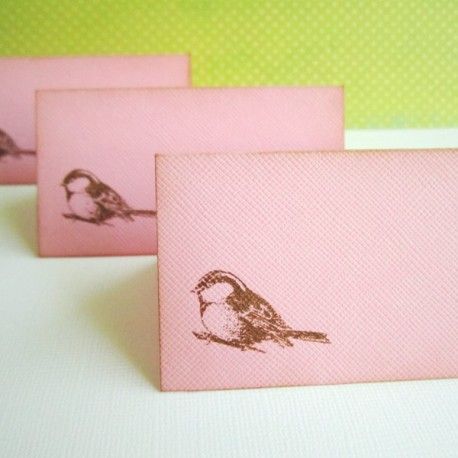 Bird Table Place Cards c