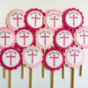 Cross Cupcake Toppers