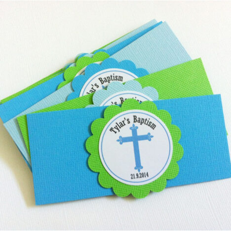 First Communion Napkin Rings Decoration