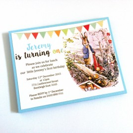 Peter Rabbit Invitations