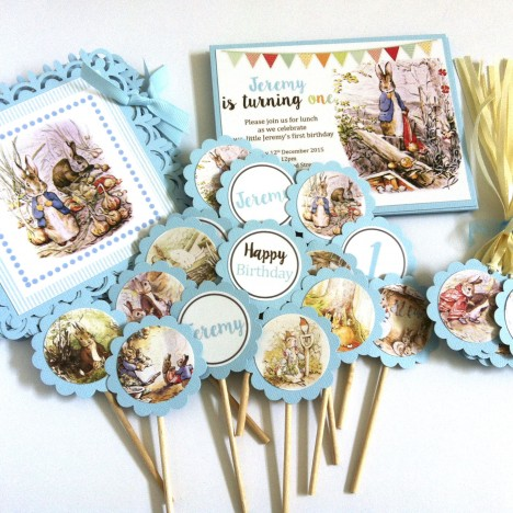 Peter Rabbit Party Decorations