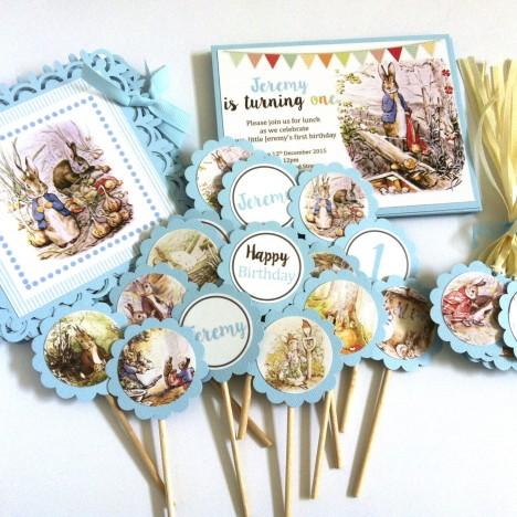 Peter Rabbit Party Decorations