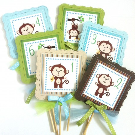 Monkey Party Centerpieces a