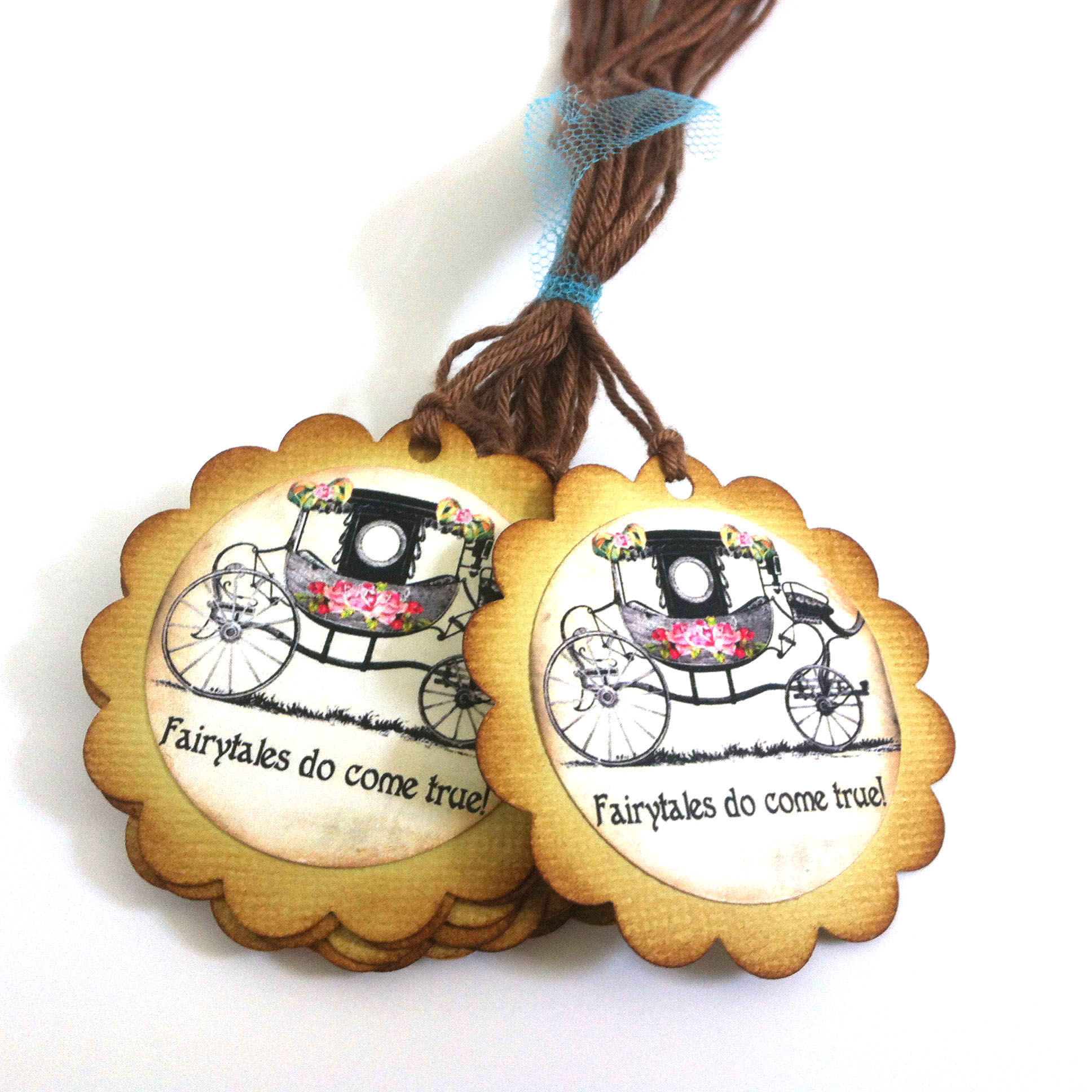 Fairy Tales Wedding Favor Tags - Fairytales Do Come True