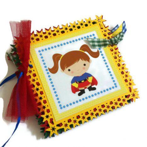 Superhero Birthday Party Banner