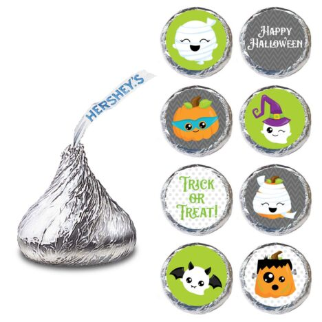 Halloween Hershey Kiss Labels