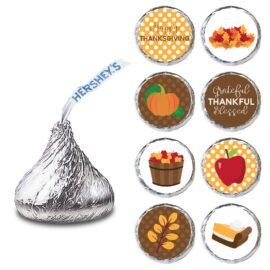 Thanksgiving Label for HERSHEY'S KISSES® chocolates