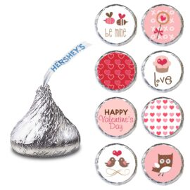 Hershey Kisses - Valentine's Day Labels