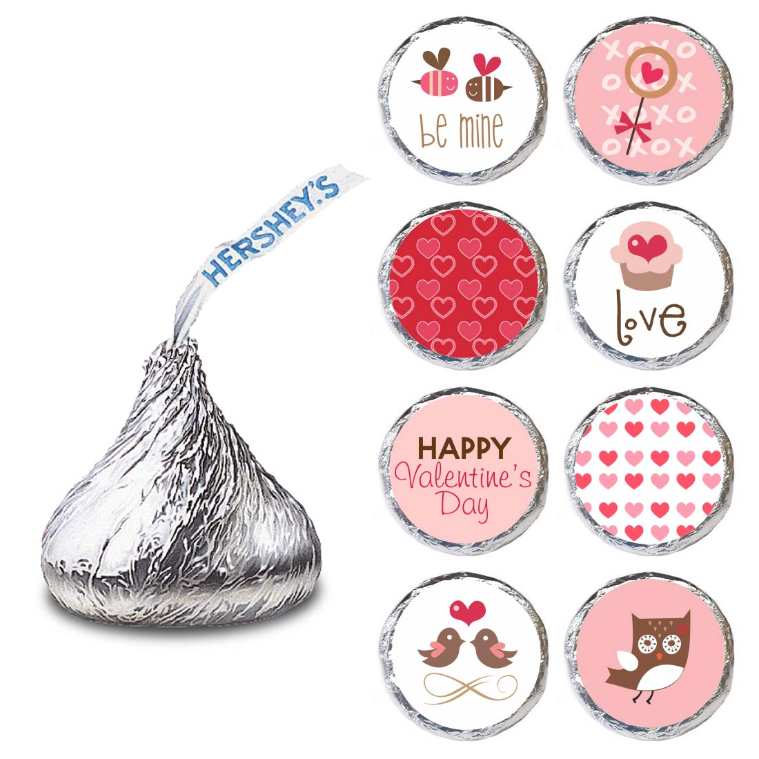 Hershey Kisses   Valentineu0027s Day Labels