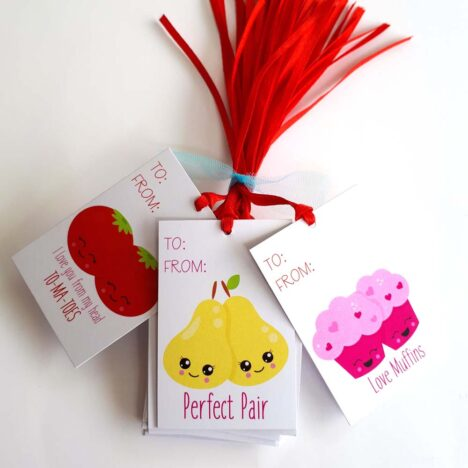 Perfect Pair Valentines Gift Tags