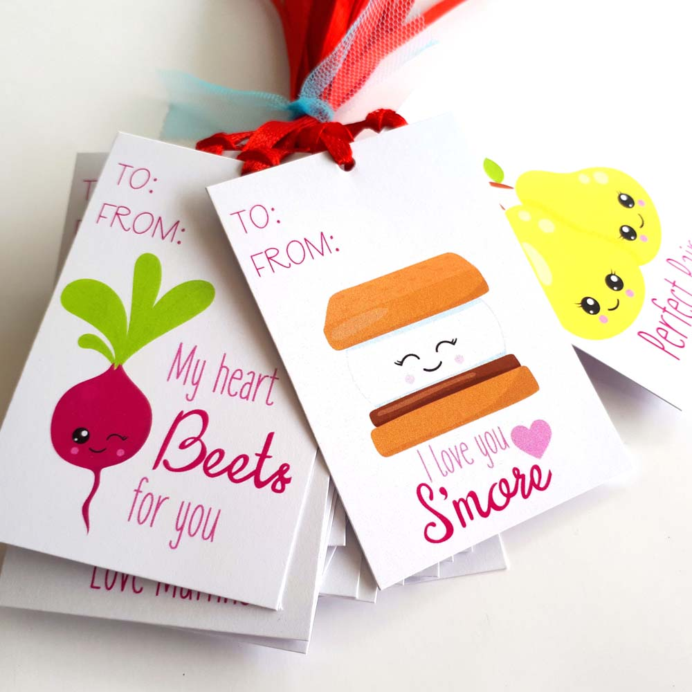 Perfect pair gift tags valentine 39 s day tags for valentines for Best gift of valentine day