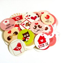 Valentine's Day Sticker Labels