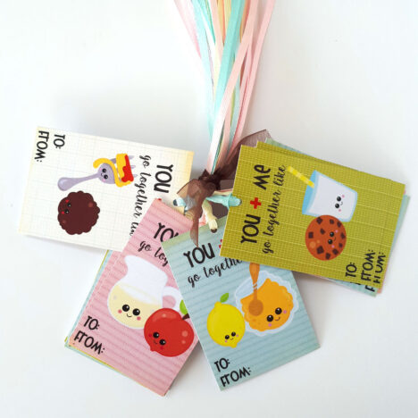 You and Me Go Together Like Gift Tags
