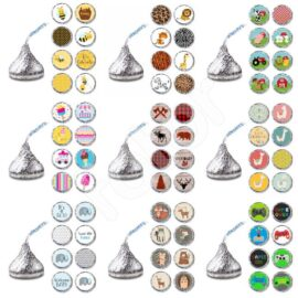 HERSHEY'S KISSES® chocolate Labels