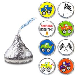 Hershey Kisses - Monster Truck Labels