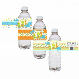 Dinosaur Water Bottle Labels